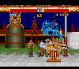 Street Fighter II: Champion Edition Genesis Blue flame ... perfect for a saturday night