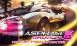 Asphalt 6: Adrenaline Android Title screen
