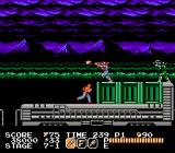 Vice: Project Doom NES Moving train stage with lots of parallax scrolling