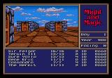 Might and Magic II: Gates to Another World Genesis Explore the outside to find various people and places