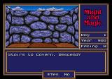 Might and Magic II: Gates to Another World Genesis Go down to find some creatures to kill