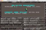 Unlimited Adventures Macintosh Main menu (GOG version)
