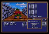 Might and Magic II: Gates to Another World Genesis you can either fight or run away, it's your choice