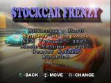 All Star Racing PlayStation Stockcar Frenzy options