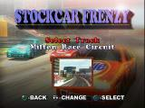 All Star Racing PlayStation Stockcar Frenzy - Select Track - Milton Race Circuit