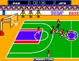 Great Basketball SEGA Master System Penalty: Charging