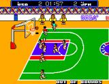 Great Basketball SEGA Master System Penalty: Out of Bounds