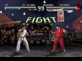 Street Fighter: The Movie PlayStation Ryu Vs. Ken: a classic!