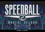 Speedball 2: Brutal Deluxe Genesis Title Screen