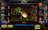 Wizardry: Crusaders of the Dark Savant DOS Battle against a dinosaur! This guy has loads of HP. Good luck!