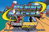 Gadget Racers Game Boy Advance Penny Racers title screen