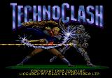 TechnoClash Genesis Title screen
