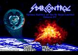 Star Control Genesis Title screen