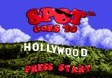 Spot Goes to Hollywood Genesis Title screen