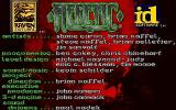 Heretic: Shadow of the Serpent Riders DOS Credits Screen