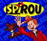 Spirou Genesis Title screen
