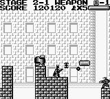 Batman: The Video Game Game Boy Back to Gotham City