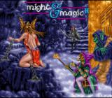 Might and Magic II: Gates to Another World SNES Opening screen