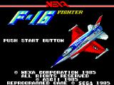 F16 Fighting Falcon SEGA Master System Title