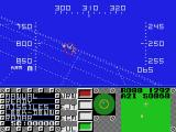 F16 Fighting Falcon SEGA Master System Launched a missile at target