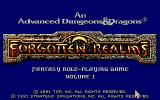 Forgotten Realms logo while loading the game.