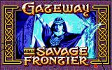 Gateway to the Savage Frontier Amiga Title screen.