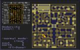 The Bard's Tale Construction Set Amiga The Undercity map is complex.
