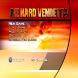 Die Hard: Vendetta PlayStation 2 Main Menu