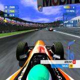 F1 Career Challenge PlayStation 2 In race.