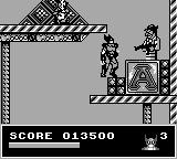 Spider-Man X-Men: Arcade's Revenge Game Boy Wolverine's stage