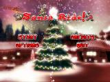 Santa Ride! Windows Title screen