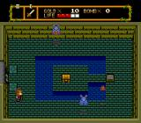 Neutopia TurboGrafx-16 Kill the monsters, push the stone, open the chest