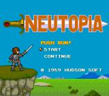 Neutopia TurboGrafx-16 Title screen