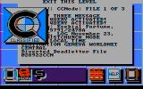 Portal PC Booter Perusing classified files at Central Processing (CGA, composite)
