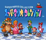 Super Mario All-Stars SNES Super Mario Collection title screen
