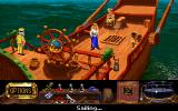 The Legend of Kyrandia: Hand of Fate DOS Aboard the ship which takes Zanthia to Volcania (or, possibly, cannibal island).