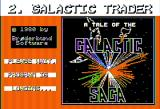 Galactic Trader Apple II Loading screen