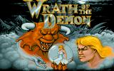 Wrath of the Demon Amiga Title screen.