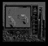 Bad Blood DOS Exploring the starting location... (Hercules Monochrome)