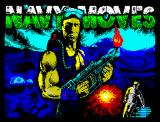Navy Moves ZX Spectrum Title Screen