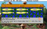 The Island of Dr. Brain DOS The language puzzles: homonyms...