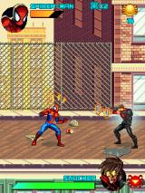 Spider-Man: Toxic City J2ME Fighting Shocker - the first boss fight