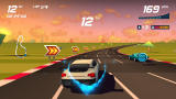 Horizon Chase Turbo Windows Optional collectibles while racing.