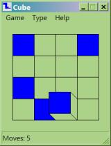 Cube Windows Game in progress