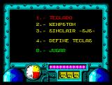 Titanic ZX Spectrum Main Menu
