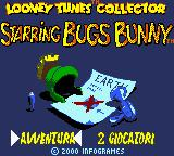 Looney Tunes Collector: Alert! Game Boy Color Italian title screen