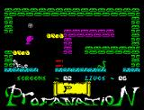 "Abu Simbel Profanation ZX Spectrum Jumping in second ""room"""