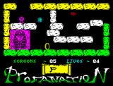 Abu Simbel Profanation ZX Spectrum That's a real pyramid