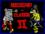 Mortadelo y Filemón II: Safari Callejero ZX Spectrum Title Screen