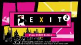 Exit 2 PSP Exit 2 title screen